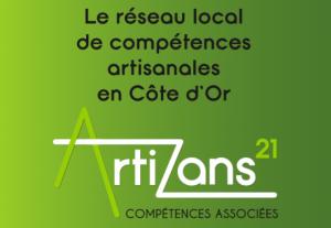 Logo Artizans 21 groupement d'artisans par Kréatitud Déco-design