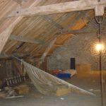 Grange avant rénovation combles par Kréatitud Déco-design Dijon