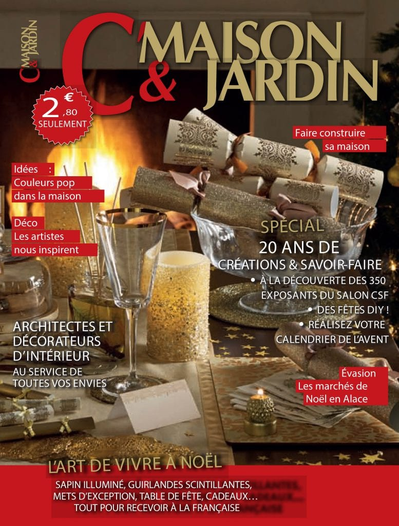 couverture maison et jardin magazine kréatitud Dijon