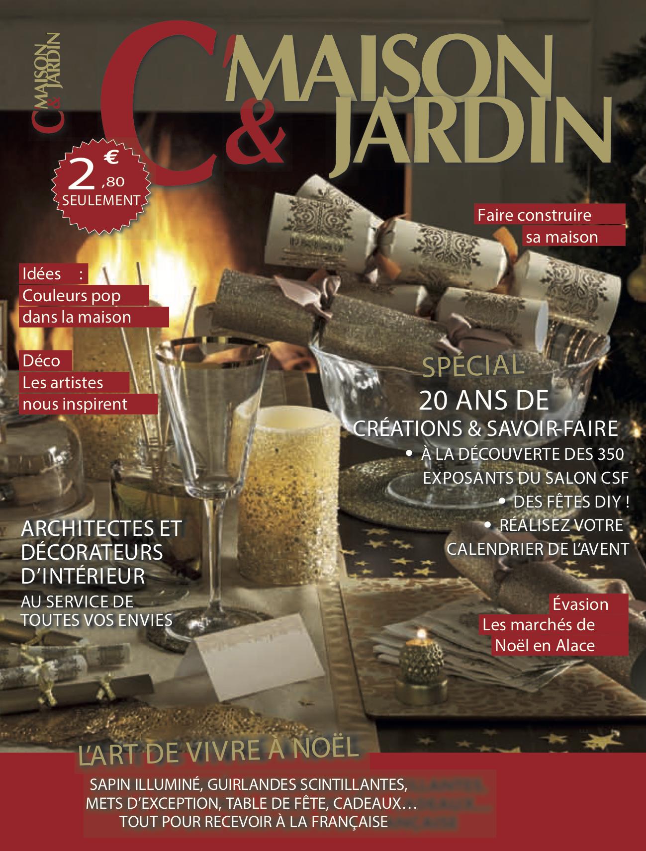 C Maison Et Jardin Magazine presse • kréatitud déco-design • architecte d'intérieur à dijon