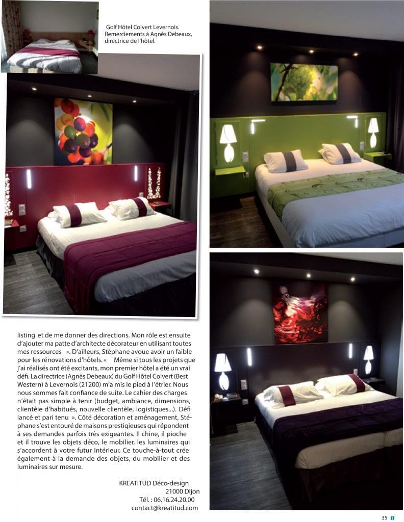 page 2 maison et jardin magazine kréatitud Dijon